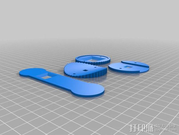 咖啡罐摄像机 3D模型  图12