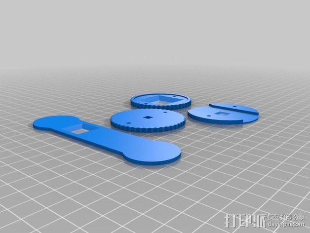 咖啡罐摄像机 3D模型  图15