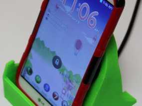 LG G2 手机充电座 3D模型