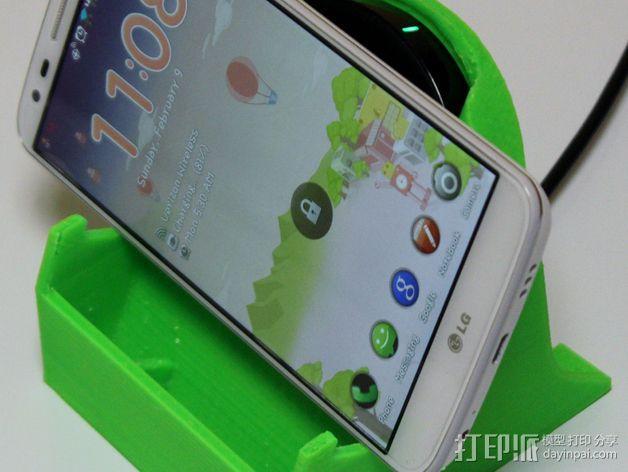 LG G2 手机充电座 3D模型  图5