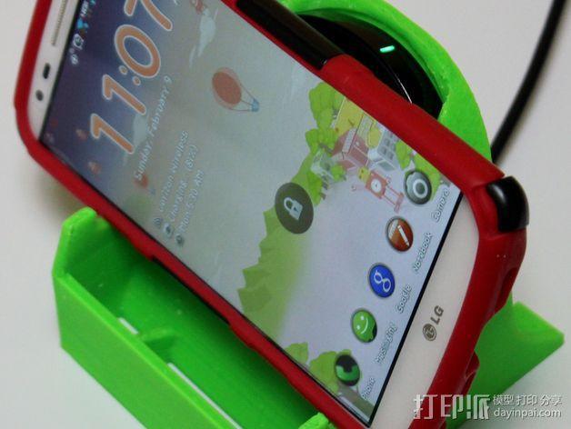 LG G2 手机充电座 3D模型  图4
