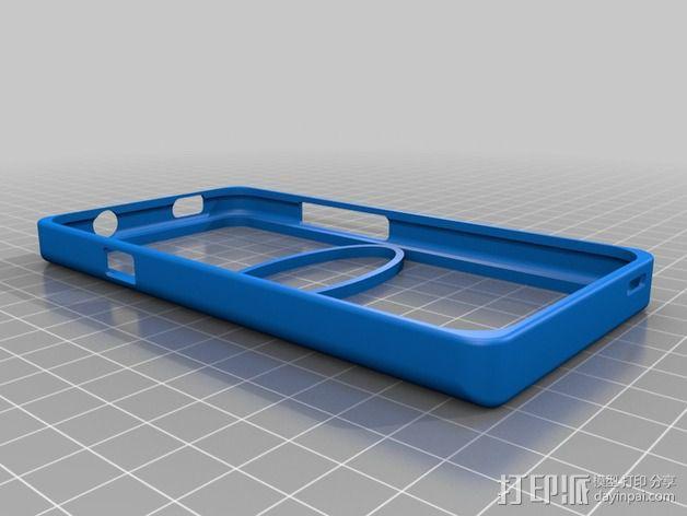HTC One-X手机保护外壳 3D模型  图1