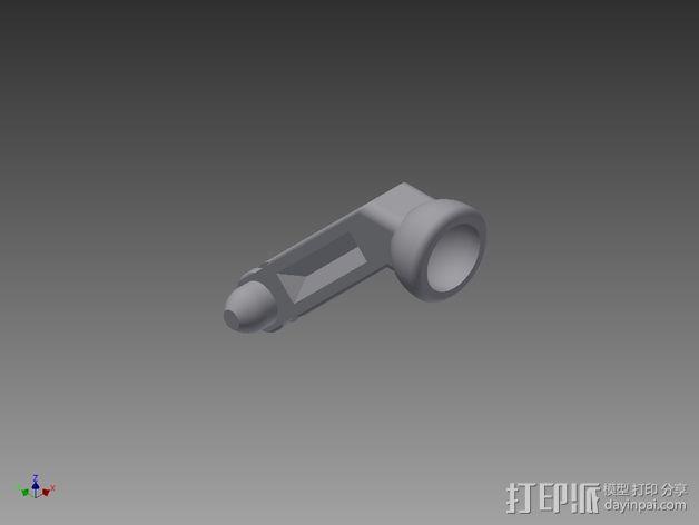 GoPro相机悬挂架 3D模型  图5