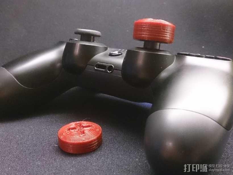 PS4游戏机手柄控制棒 3D模型  图1