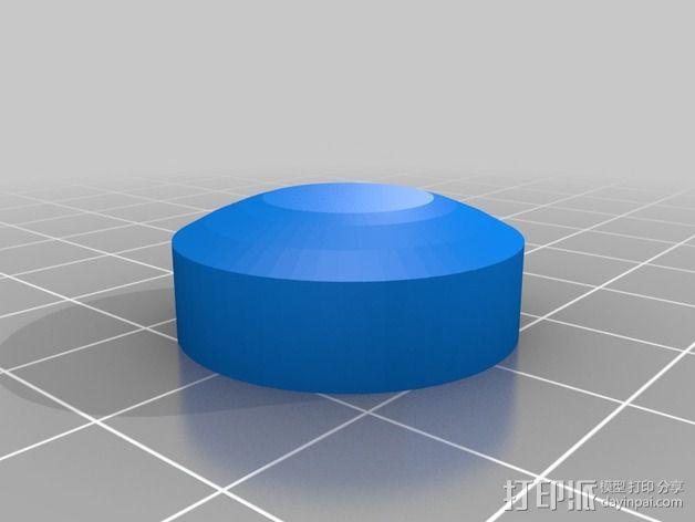 PS4游戏机手柄控制棒 3D模型  图4