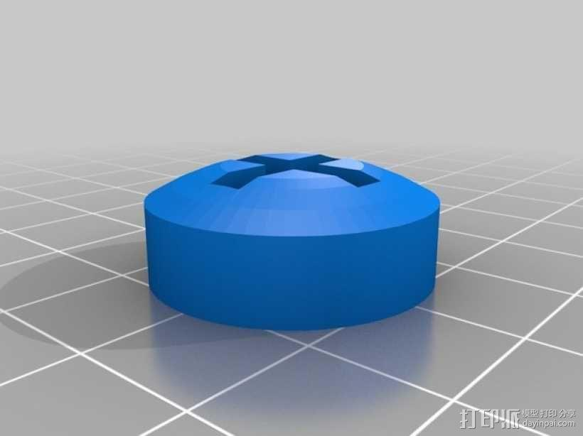 PS4游戏机手柄控制棒 3D模型  图5