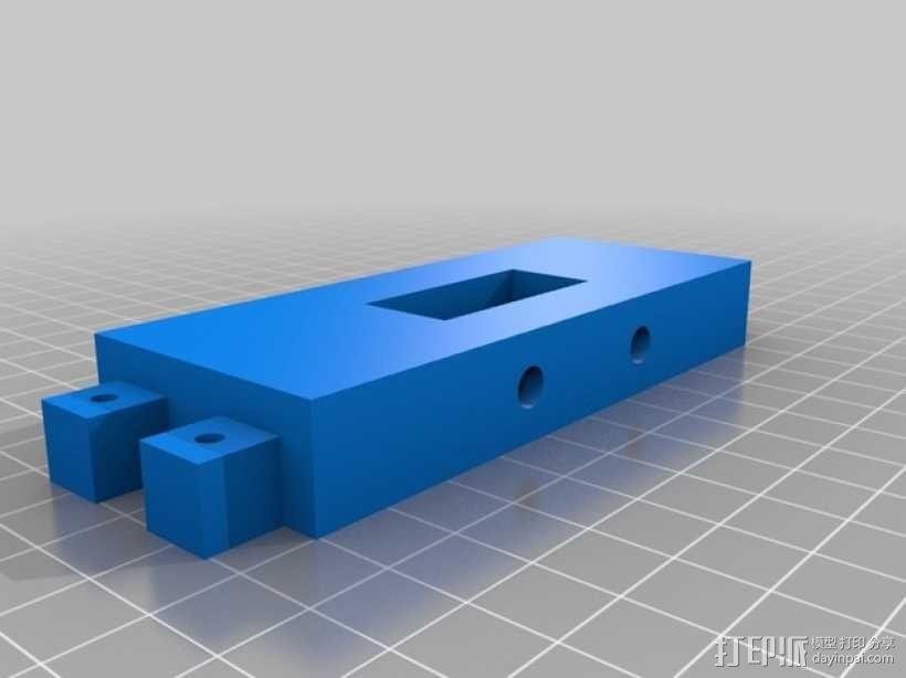 PS Vita游戏机支撑架 充电座  3D模型  图4