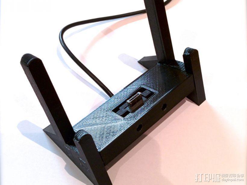 PS Vita游戏机支撑架 充电座  3D模型  图6
