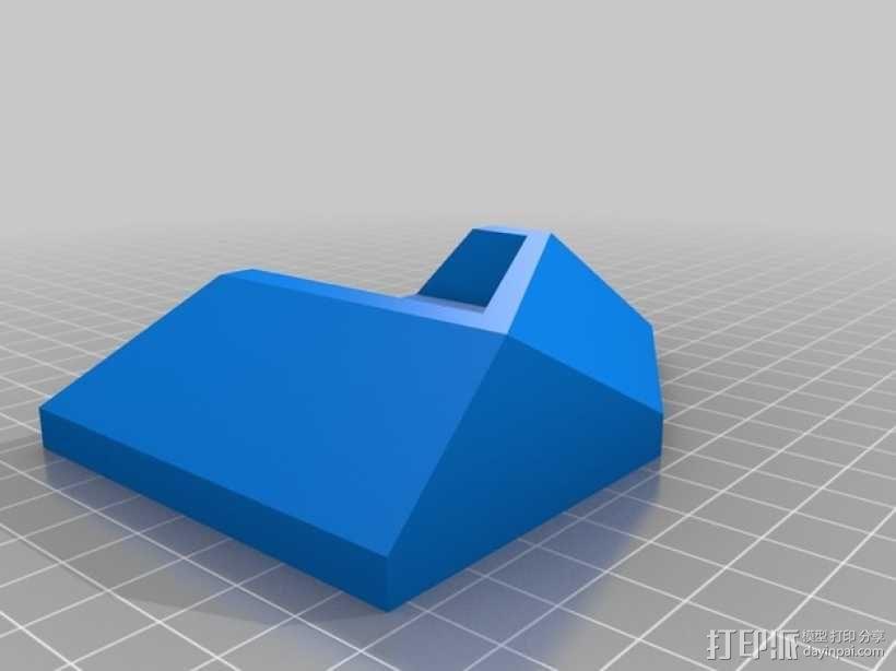 ps4游戏机直立支架 3D模型  图6