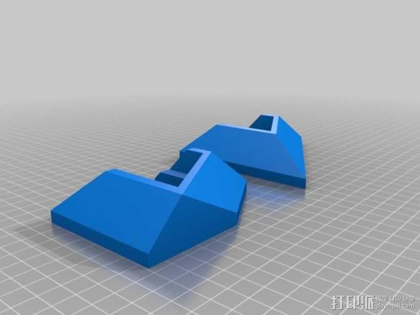 ps4游戏机直立支架 3D模型  图7