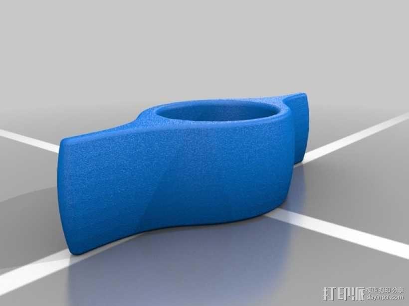 懒人书撑 3D模型  图1