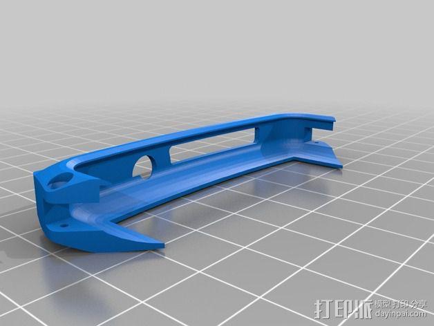 nexus 5手机边框保护壳 3D模型  图4