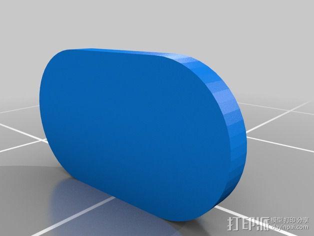 nexus 5手机边框保护壳 3D模型  图5