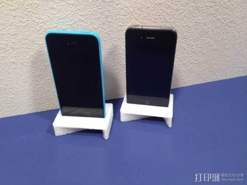 iPhone手机扩音器 3D模型  图1