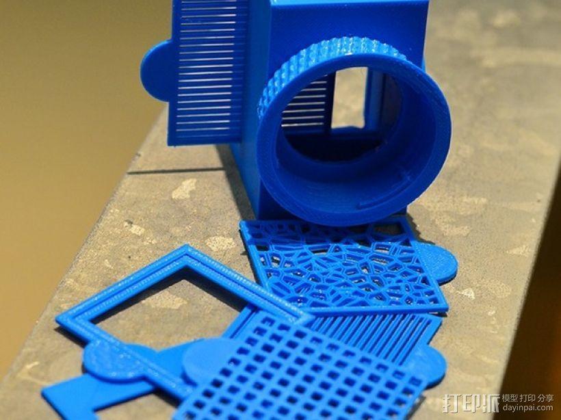 尼康相机闪光灯罩 3D模型  图1