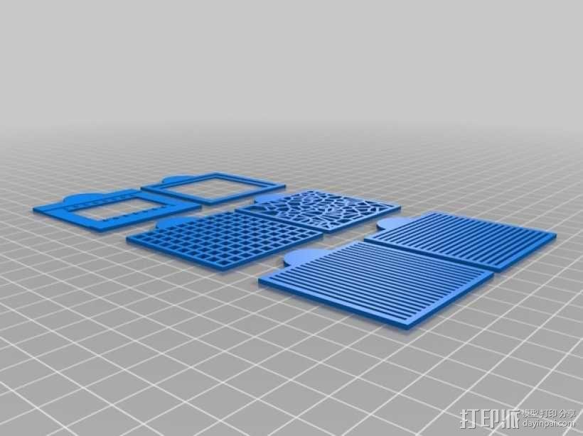 尼康相机闪光灯罩 3D模型  图2