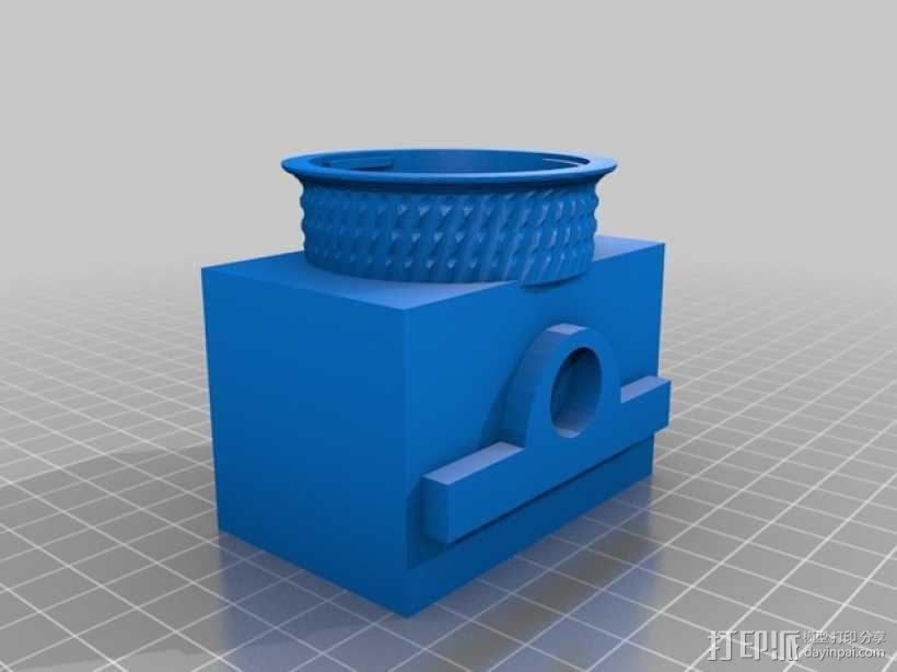尼康相机闪光灯罩 3D模型  图3
