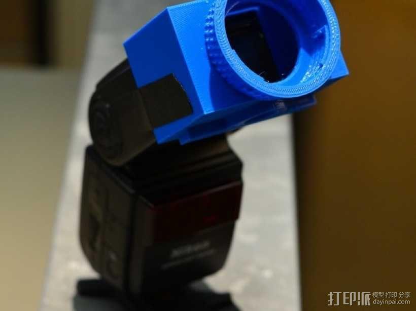 尼康相机闪光灯罩 3D模型  图7