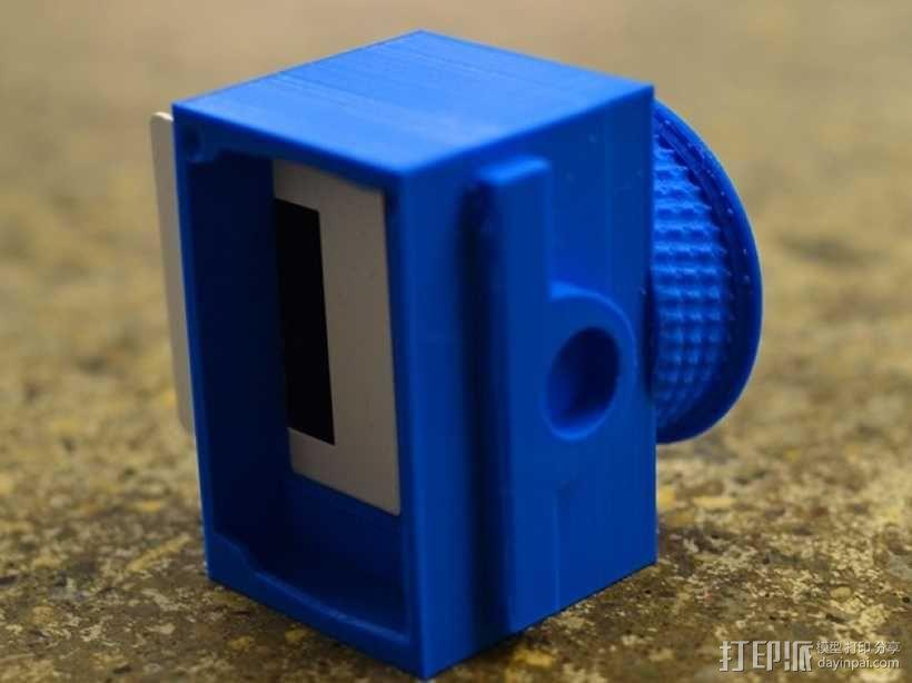 尼康相机闪光灯罩 3D模型  图6
