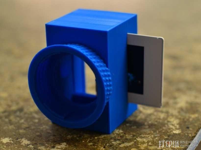 尼康相机闪光灯罩 3D模型  图5