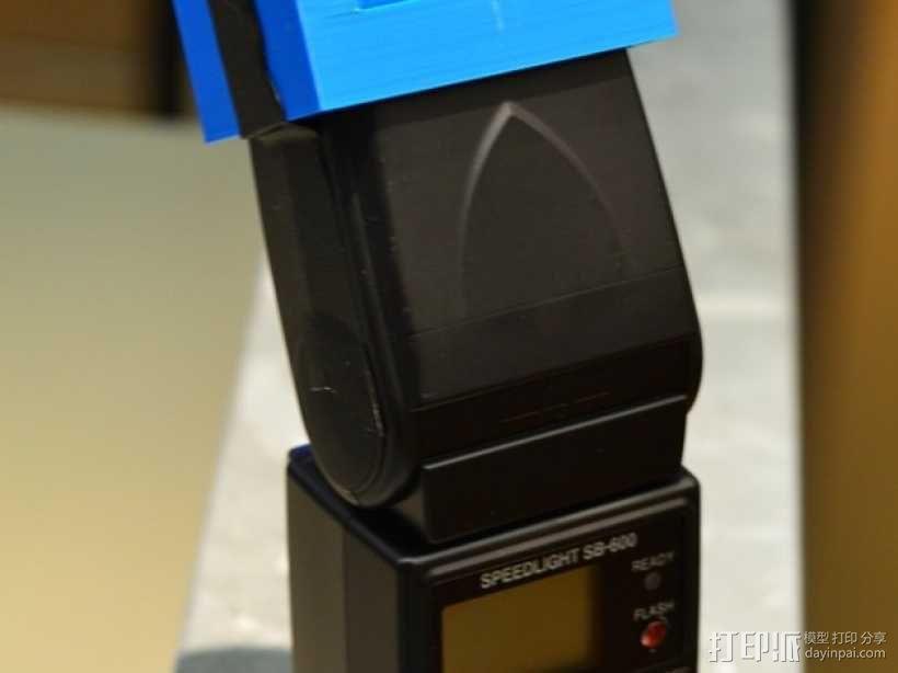 尼康相机闪光灯罩 3D模型  图8