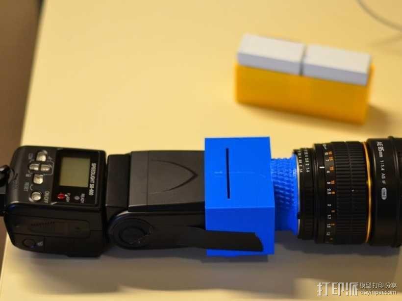 尼康相机闪光灯罩 3D模型  图9