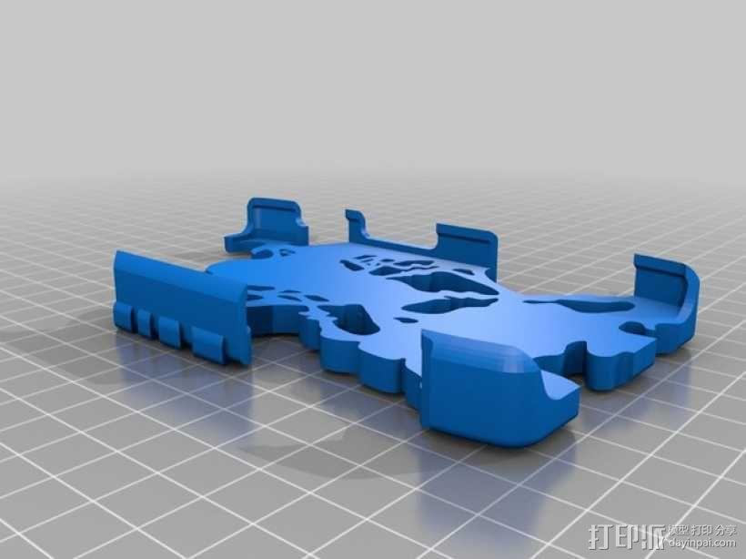 摩托罗拉Droid Razer 手机外壳 3D模型  图2