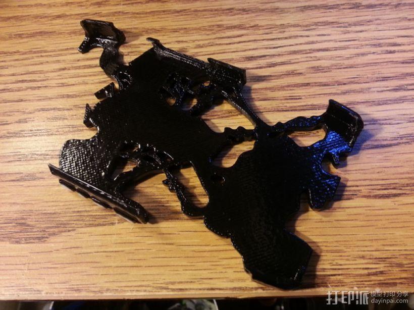 摩托罗拉Droid Razer 手机外壳 3D模型  图3