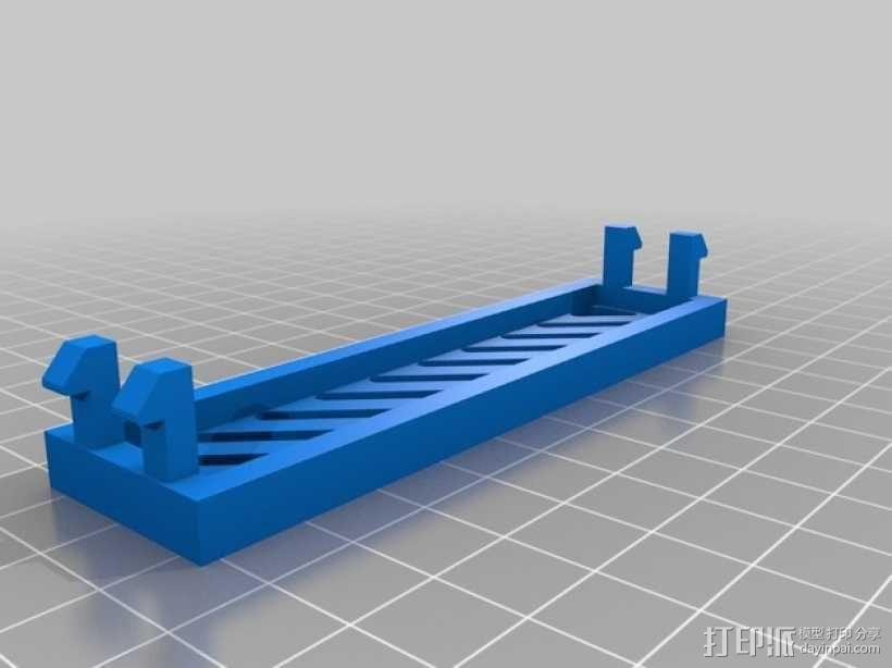 挡板 硬盘罩  3D模型  图2