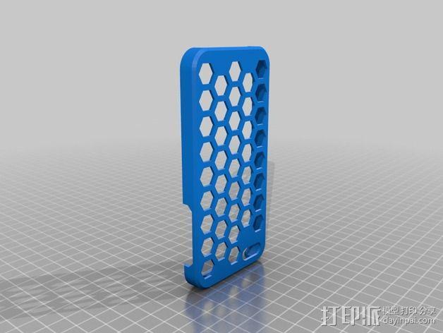 iPhone5手机保护套  3D模型  图2