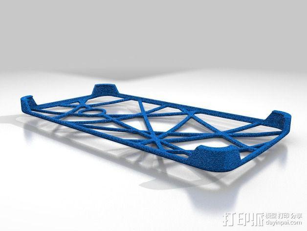 HTC ONE 手机套 3D模型  图1