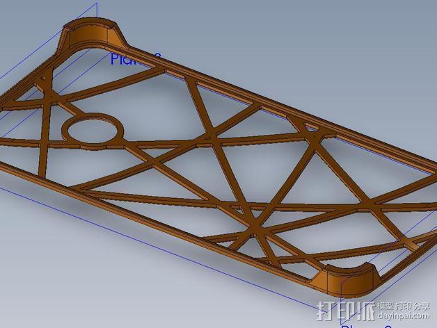 HTC ONE 手机套 3D模型  图2