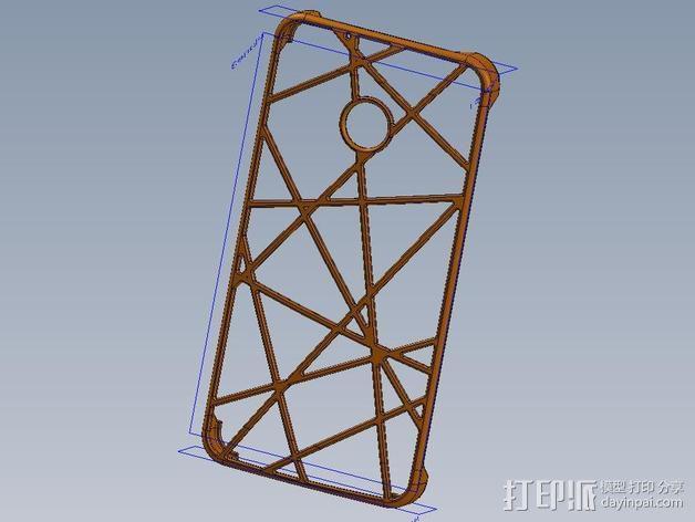 HTC ONE 手机套 3D模型  图3
