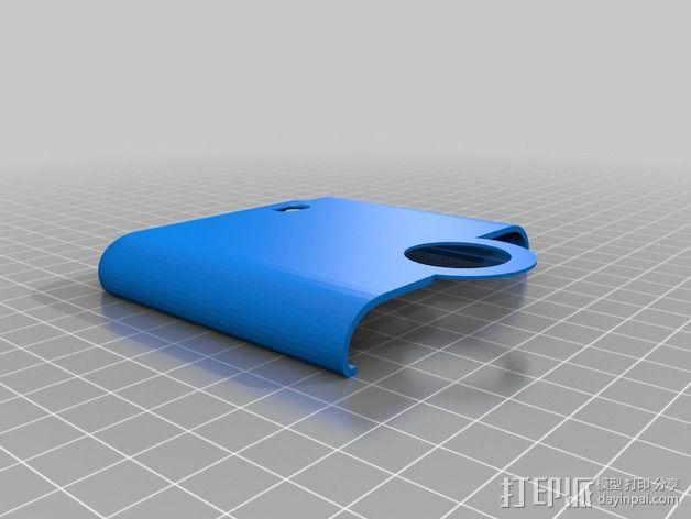 三星Galaxy Note 2 手机保护套 3D模型  图2