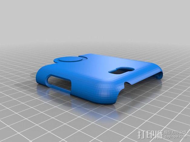 三星Galaxy Note 2 手机保护套 3D模型  图4