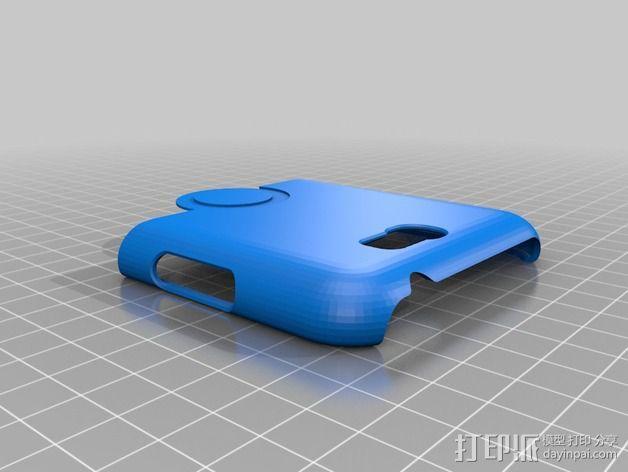 三星Galaxy Note 2 手机保护套 3D模型  图6