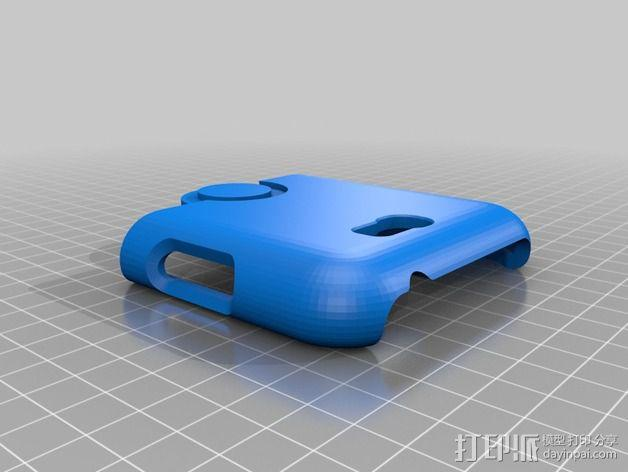 三星Galaxy Note 2 手机保护套 3D模型  图8