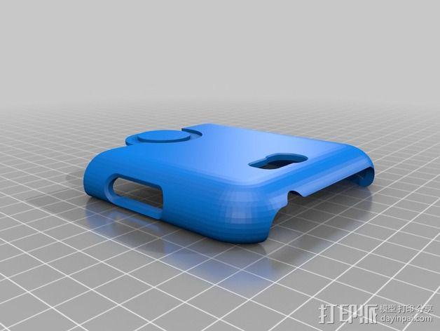 三星Galaxy Note 2 手机保护套 3D模型  图9
