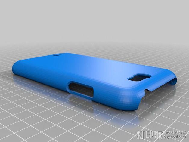 三星Galaxy Note 2 手机保护套 3D模型  图12