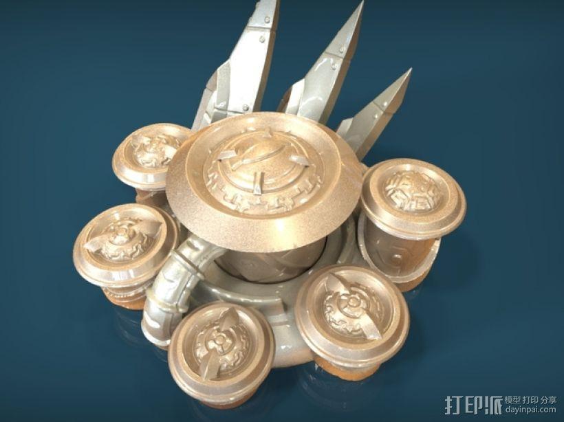 星际争霸神族控制器模型 3D模型  图1