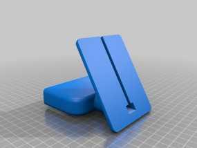 盖世4桌面站架 3D模型