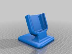 三星Galaxy S3桌面支持站架 3D模型