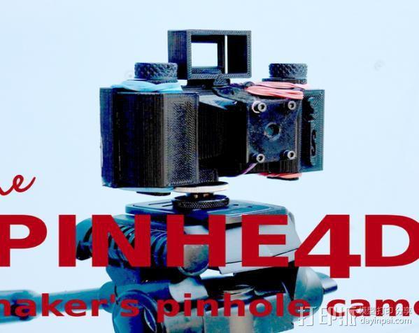 迷你真空摄像机 3D模型  图1