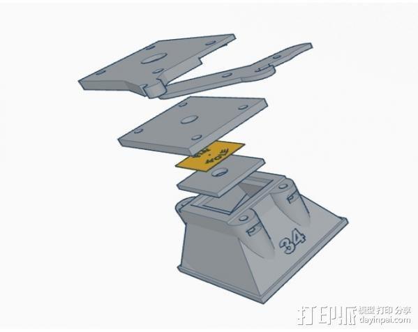 迷你真空摄像机 3D模型  图15