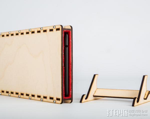 Nexus 7外壳与站架 3D模型  图6