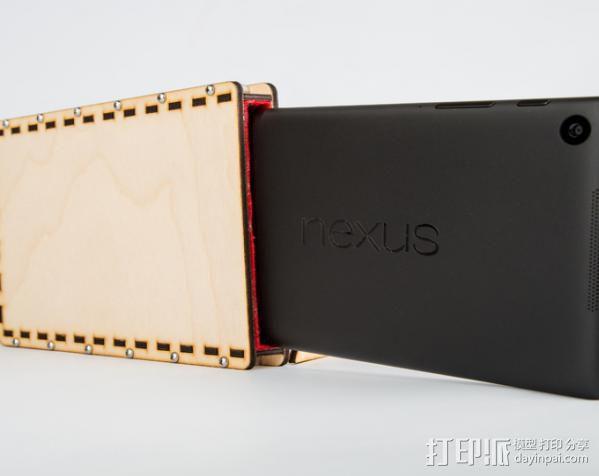 Nexus 7外壳与站架 3D模型  图12