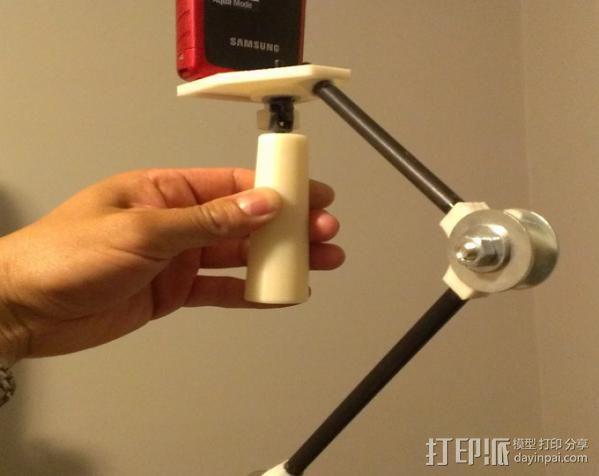 小的摄像机稳定 3D模型  图2