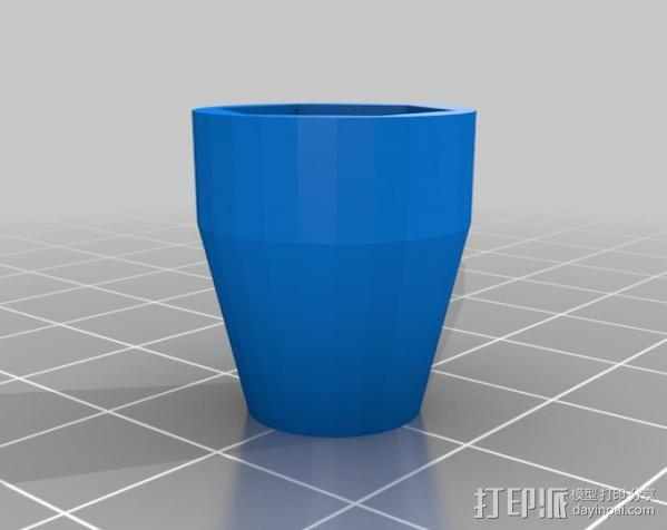 小的摄像机稳定 3D模型  图3