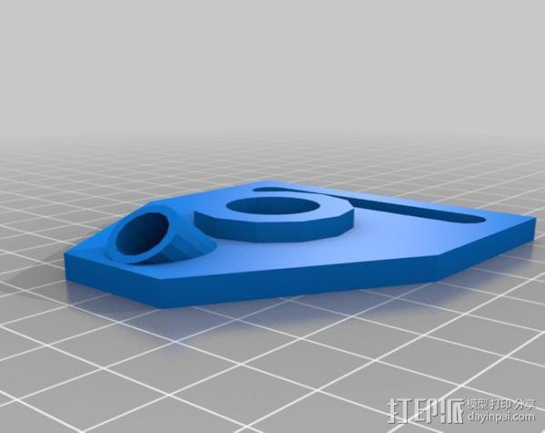 小的摄像机稳定 3D模型  图6