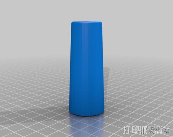 小的摄像机稳定 3D模型  图5